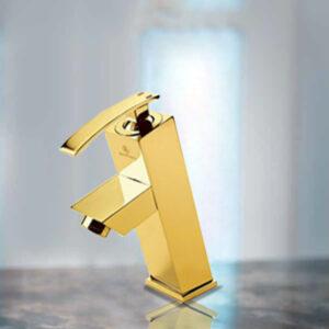 شیرآلات قهرمان مدل فلت صدف طلایی